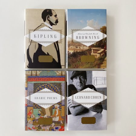 Collection of Poetry Books