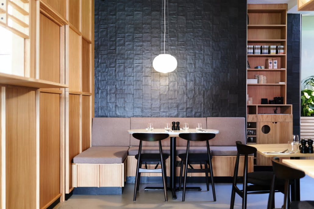Fitzrovia Restaurant - interior - corner table